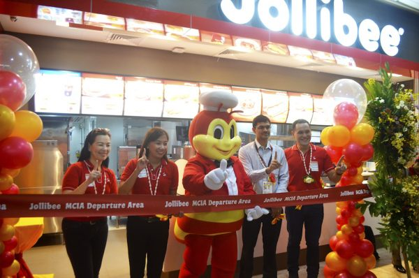 jollibee opening at Mactan-Cebu International Airport domestic departures area