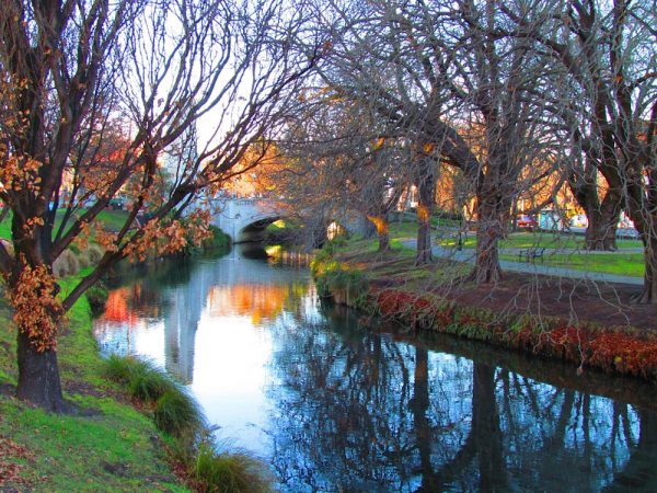 Christchurch in New Zealand