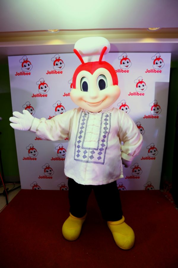 Jollibee is #PinoyAndProud. A sneak peek of the Jolly Friends' new nationalistic attire to celebrate the Philippine's 118th Independence Day. Hetty, Mr. Yum, Popo, and Twirlie will also debut their new attires soon.