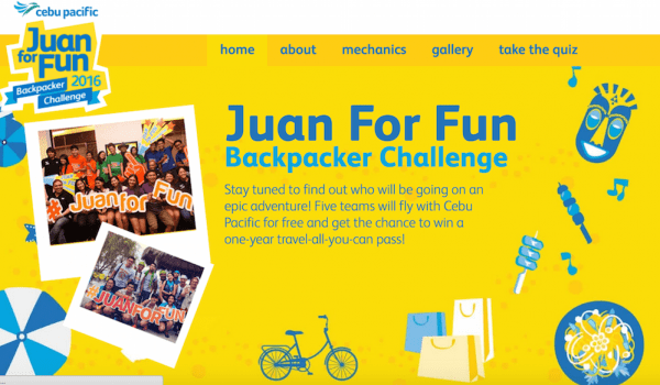 Juan For Fun Backpacker Challenge