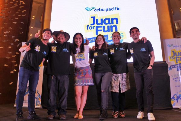 Juan for Fun Backpacker Challenge Coaches with Candice Iyog