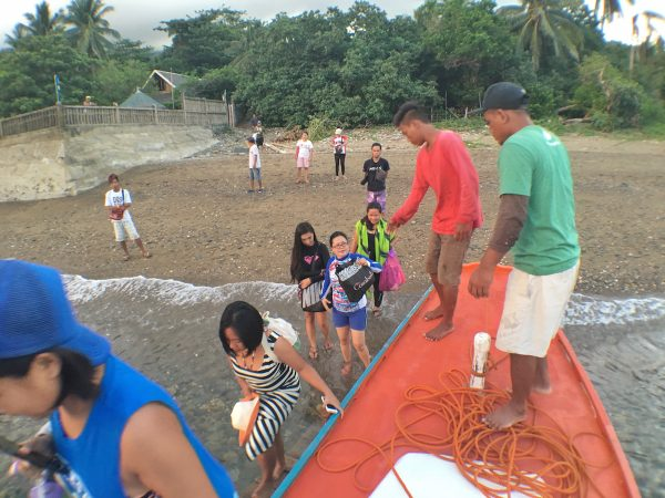 Leaving the Mayor's Beach House in San Fernando Sibuyan Romblon