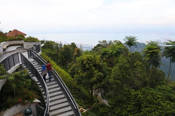 One of the View decks in Penang Hill