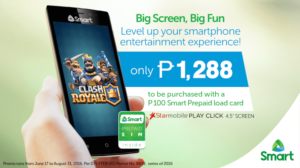 Travel Gadget: Smart Debuts Cheapest Large Screen Android Starmobile ...