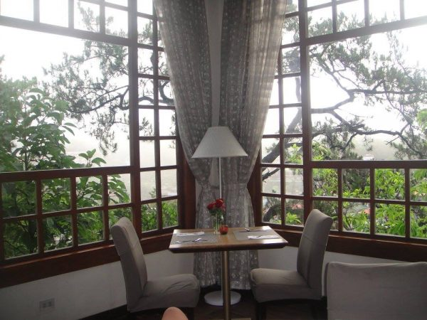 The corner romantic spot at Hill Station Restaurant