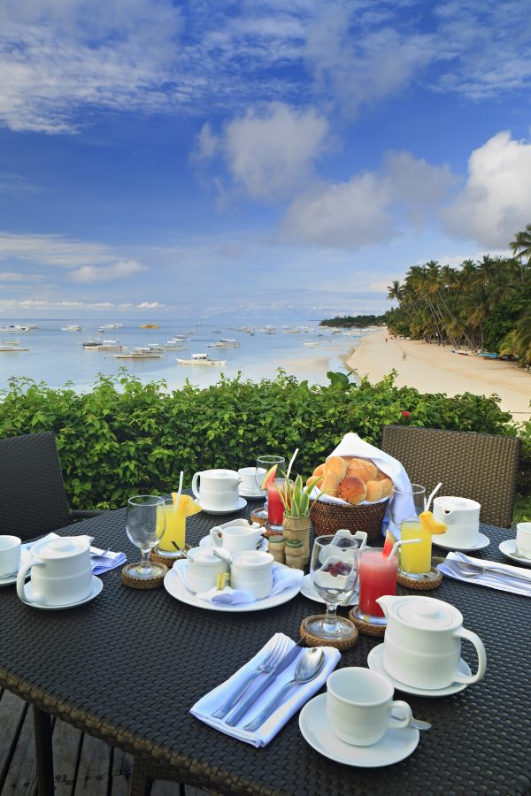 Amorita Breakfast with a view
