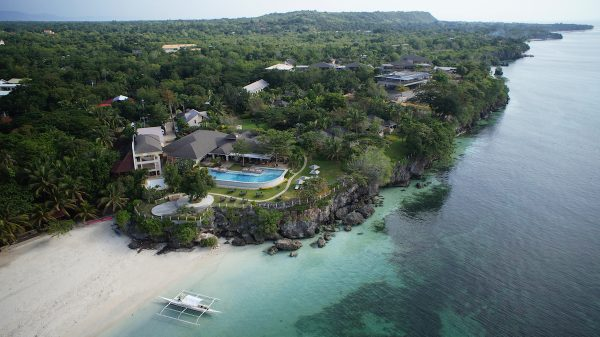Amorita Resort Bohol Aerial View