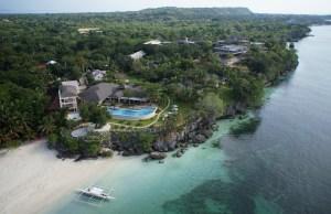Amorita Resort Bohol Aerial View