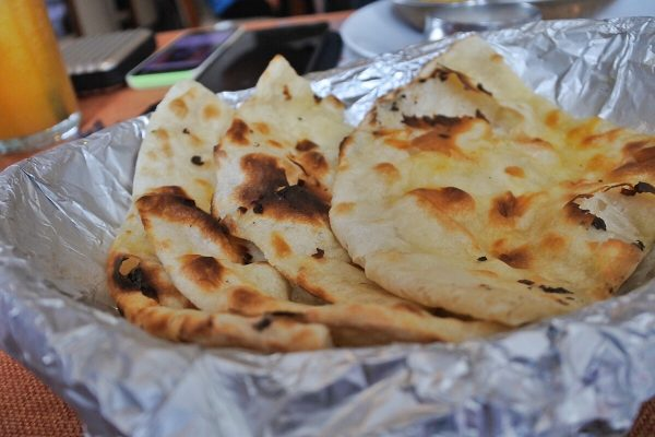 Buttered Naan