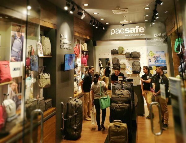 First Pacsafe Flagship Store in The Philippines