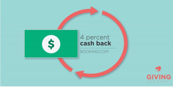 Get Booking.com Cash back