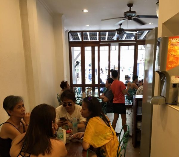 Island Chicken Inasal's recently improved dining area with air-conditioning