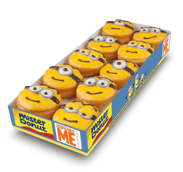 Mister Donut Despicable Me Donuts