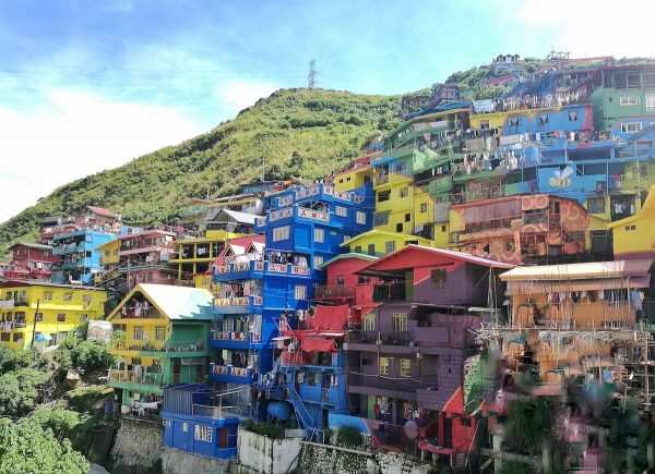 Colorful Houses near Baguio City