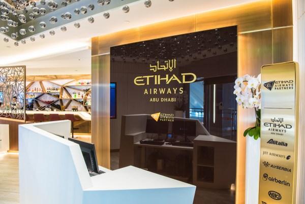Etihad Airways Business Lounge in LA