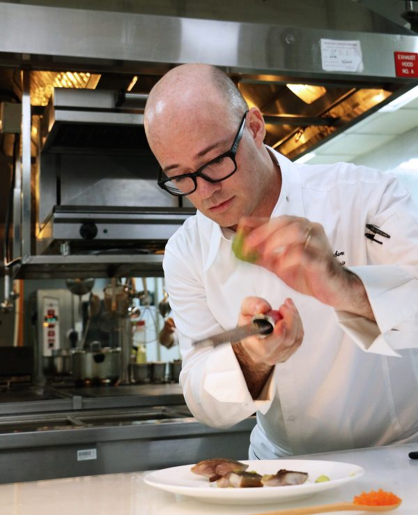 Lafite's chef de cuisine Rémy Lefebvre works culinary magic with farm fresh vegetables, seasonal and sustainable ingredients. They are the essence of his 2016 Summer Collection at Lafite.