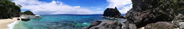 Panoramic View of Apo Island
