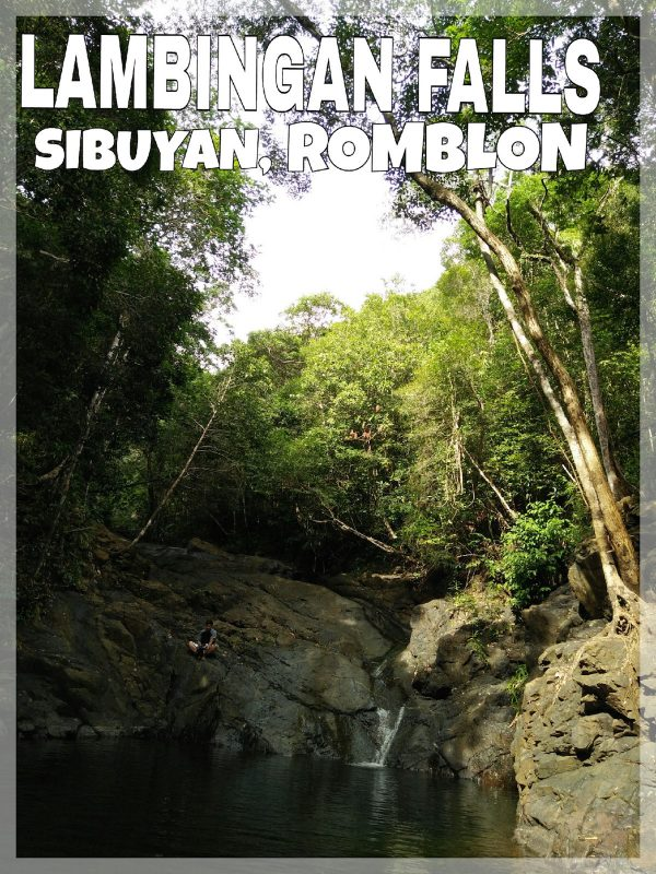 Alone but not lonely in Lambingan Falls – Ajie Masuba