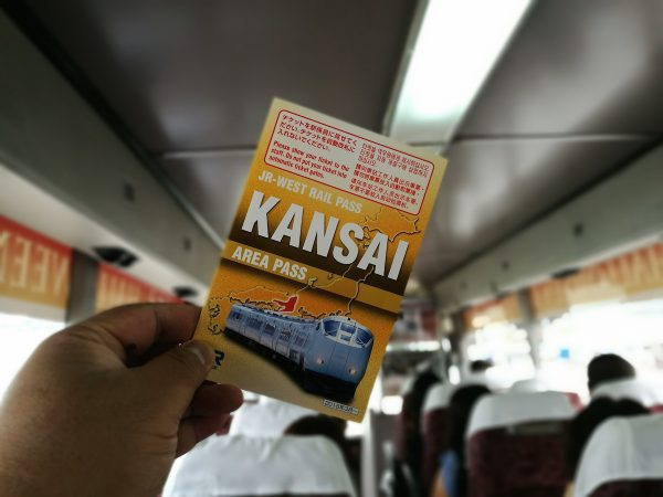 JR West Rail Pass - Kansai Area Pass