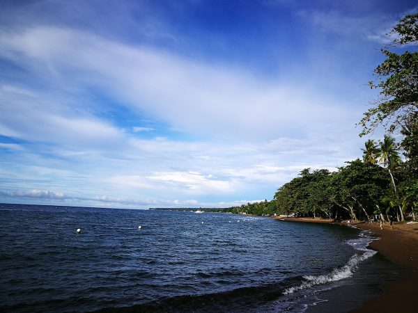 Unspoiled beach at Dauin, Negros Oriental