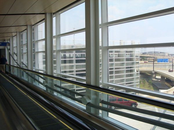 Cable Suspended Footbridge at Dallas/Fort Worth International Airport