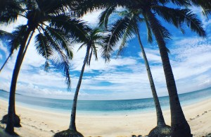 Roadside Beach in Carabao Island