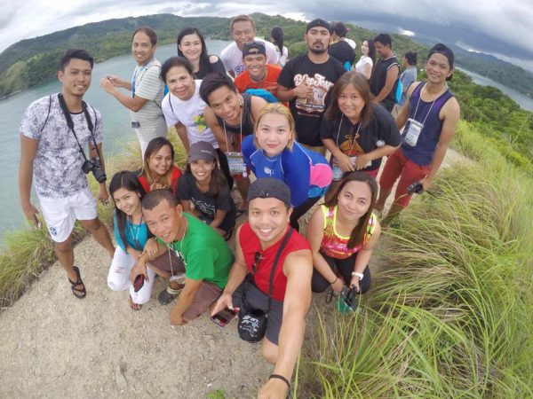 Ramon Figuras for Phil Travel Mart - All Smiles at the top