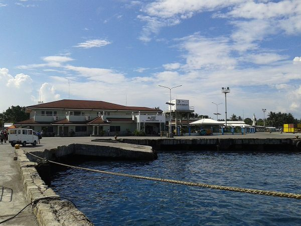 The Port of Dumaguete