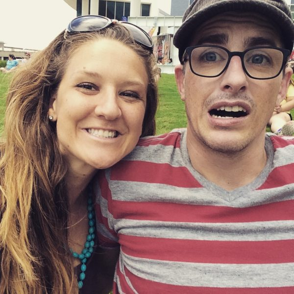 This is me and my boyfriend Ben at ACL in Austin Texas.