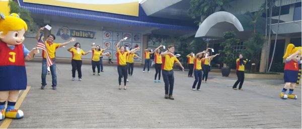 Welcome Dance from Julie's Staff in Malacca