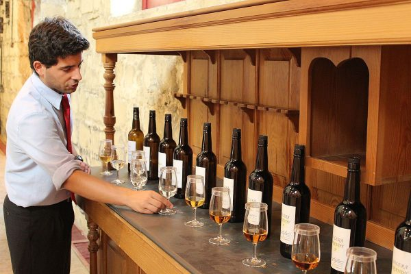 from Fino through Brandy – the tastes of sherry