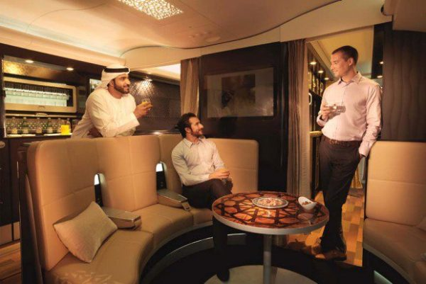 Etihad Airways First Class lounge