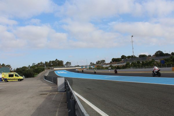 Motorcycle Racing in Jerez