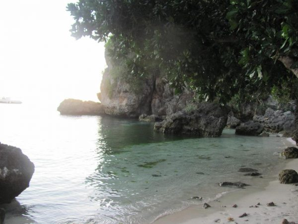Balinghai Beach Resort's rustic cove