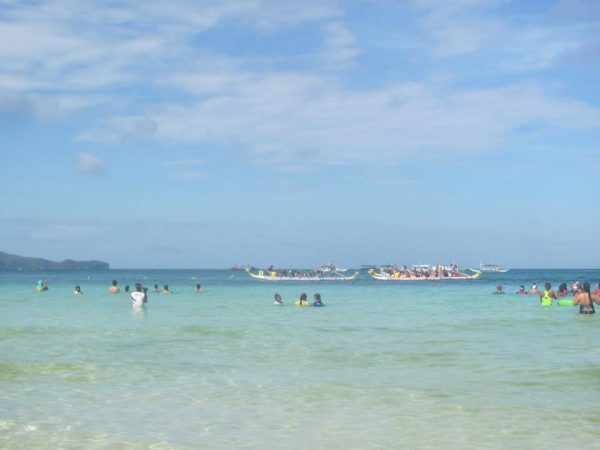 Boracay International Dragonboat Race held annually on white beach