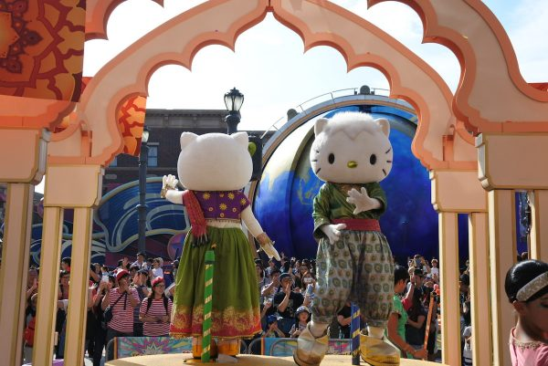 Hello Kitty at Reborn Parade