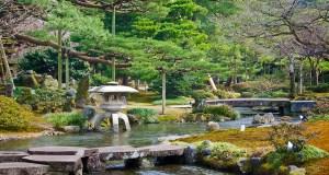 Small Canal in Kenrokuen Garden