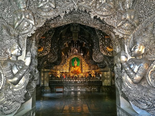 The Silver Temple of Thailand