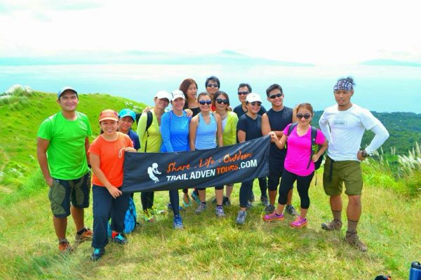 We made it to the Mt. Gulugod summit!