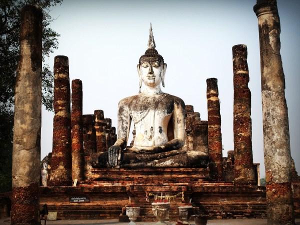 Ancient Buddha Statue in Bangkok