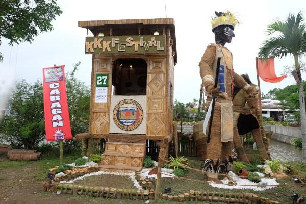 Cabagan Bambanti Festival 2017 Agro Tourism Booth
