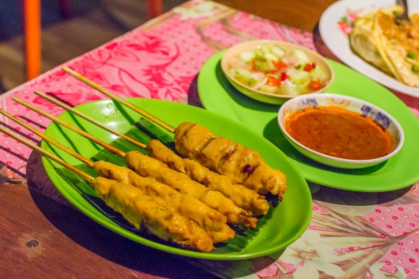 Chicken Satay with Special Satay Sauce
