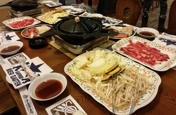 Genghis Khan Dinner in Sapporo