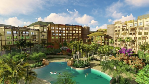 Hong Kong Disneyland Disney Explorers Lodge Overview Photos