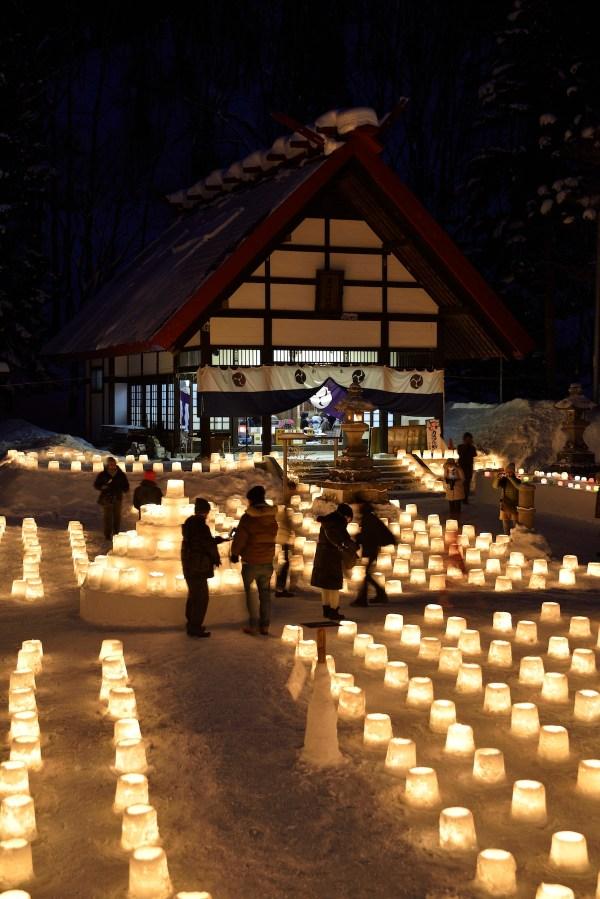 Jozankei Onsen Snow Light Path - Sapporo City Guide