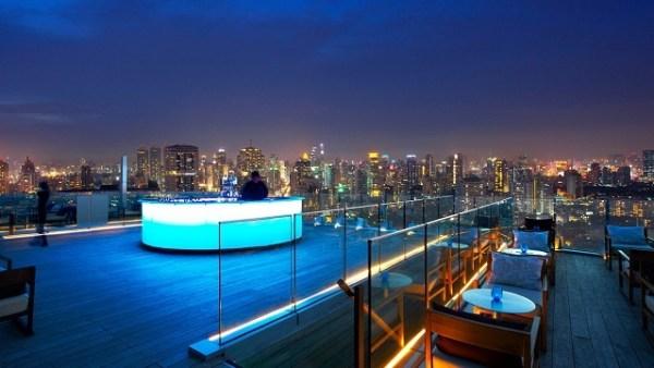 Octave Rooftop Bar in Bangkok