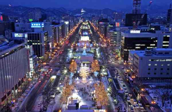 Sapporo Snow Festival in Hokkaido Japan