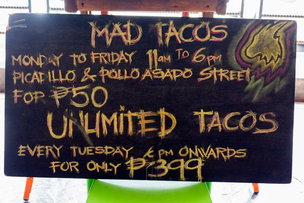 Unli-tacos Tuesday