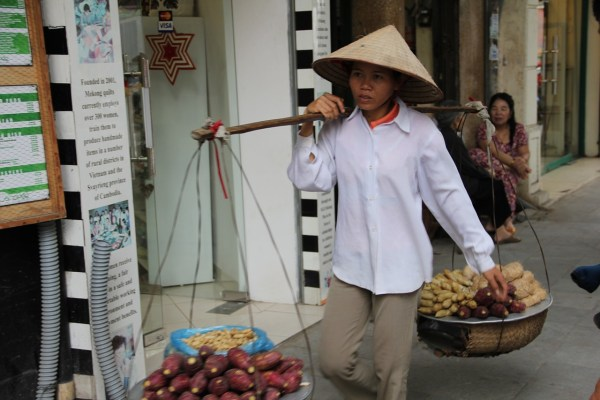 Vendor in Hanoi