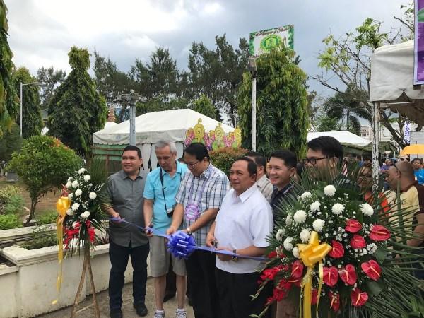 2017 Ubi Festival ribbon cutting ceremony